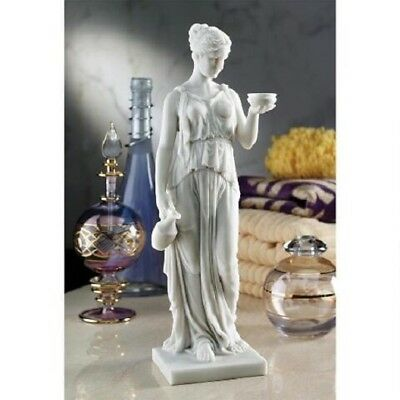 Daughter of Zeus Statue Hebe Mythological Youthful Greek Sculpture