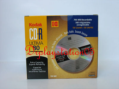 Kodak CD-R Ultima 80 Brand New In Box