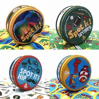 UK Spot It Dobble Find It Board Funny Card Game For Family Gathering Xmas Party