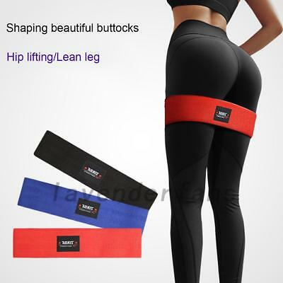 Resistance Hip Circle Band Booty Exercise Glute Non Slip Peach Glute Loop Band