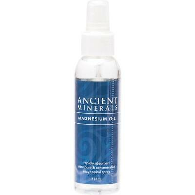 Ancient Minerals Pure Magnesium Oil Full Strength Mineral Supplement Spray 118ml