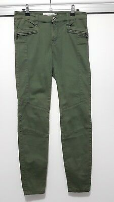 H&M Olive Green Skinny Jeans US Size 8 / AU Size 10 - Never Worn
