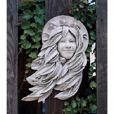 Greek Goddess Greenwoman Garden Sculpture Leaves Of Inspiration Home Decor