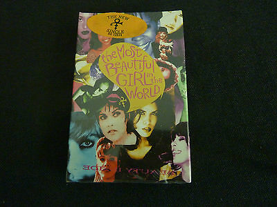 Prince The Most Beautiful Girl In The World Ultra Rare Sealed Cassette Single!