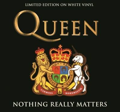 QUEEN NOTHING REALLY MATTERS LIVE limited editon WHITE VINYL LP Rare Album New
