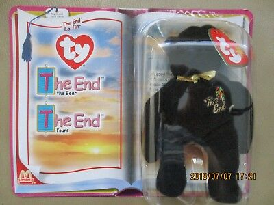 TY-Plush-McDonald-039-s-Teenie-Beanie-Babies-2000 The-End-THE-BEAR