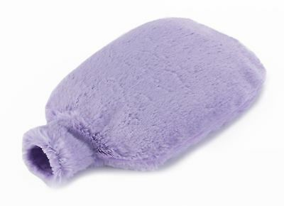 Intelex Cozy Plush Microwavable Bed Warmer Lilac Heatable Furry Hot Water Bottle