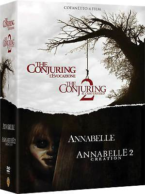 Conjuring Collection  4 Dvd  Cofanetto  Horror