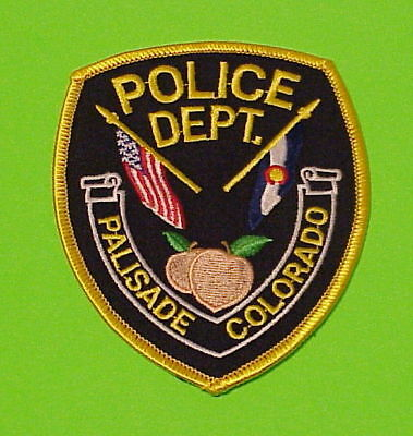 Palisade  Colorado  Co  Type #2   Police Dept. Patch  Free Shipping!!!