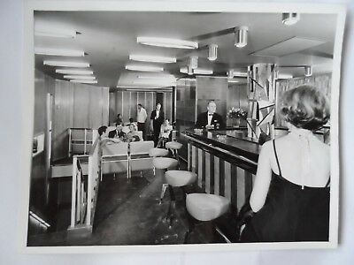 CTG French Line Promotional Photograph #42 Tourist Class Cabaret SS France