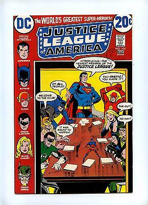 Justice League of America #105 - DC 1973 - Elongated Man Joins - VFN+
