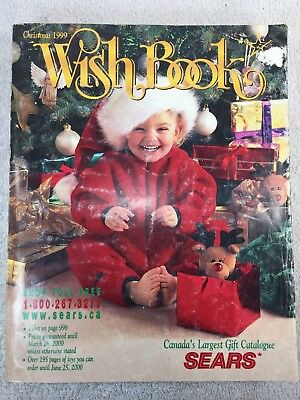 Sears Wishbook Cataloge 1999 Christmas Toys Magazine Shopping Ordering Reference