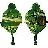 John Deere Boys' Toddler Winter Cap, Green - LP68991