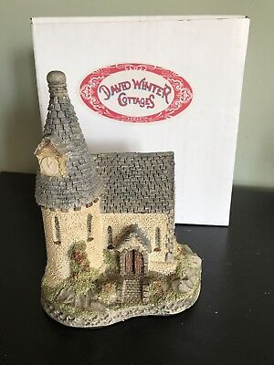"1984 David Winter Cottages ""THE CHAPEL"" FIGURINE With Box"