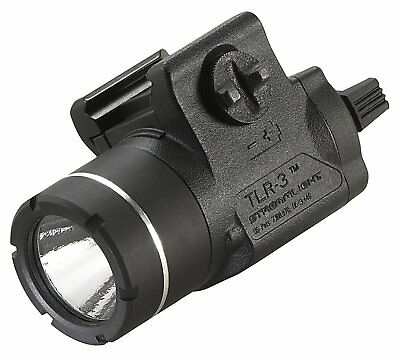 Streamlight 69220 TLR-3 Rail Mount Tactical LED Light for Full, Sub, Compact