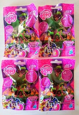 My Little Pony Lot of 4 Blind Bags Friendship is Magic Nightmare Night Halloween