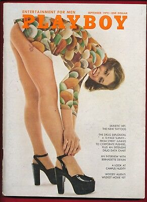 September 1972 PLAYBOY VERY GOOD+ CONDITION GIFT SUSAN MILLER Nude Sit-ins
