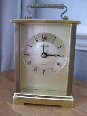CARRIAGE CLOCK by METAMEC QUARTZ MOVEMENT
