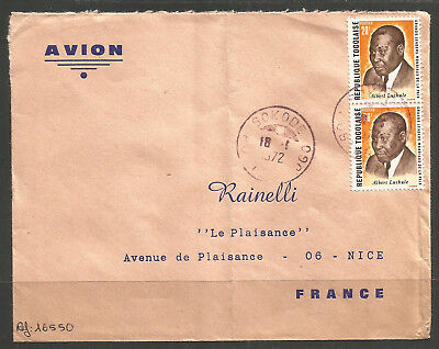 Togo / Africa. Cover To France. Sokode