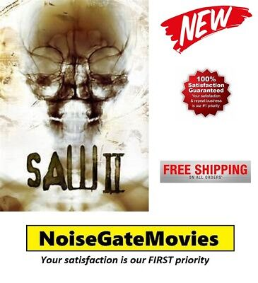 New ~ saw ii ~ (dvd, 2006, 2-disc, ws, uncut edition, special.