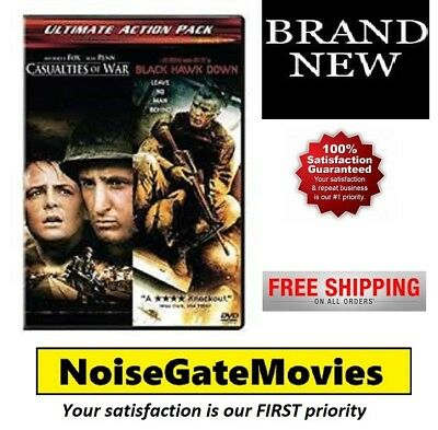 Brand New - Casualties of War/Black Hawk Down DVD,  2-Disc - Ships Out Same Day!