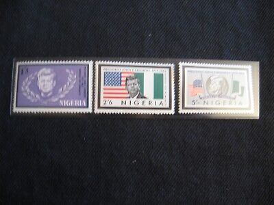 Nigeria: 1964 JFK Memorial set (MNH)