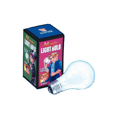 """Light Up in Hand Magic Light Bulb Trick Funny Prop Stage 4"""" Close-Up Empire"""