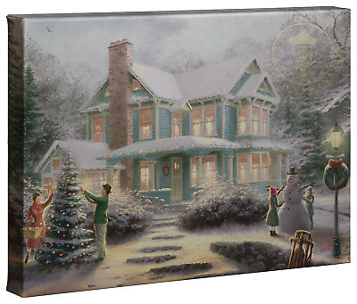 Thomas Kinkade Holiday Collection 10x14 Gallery Wrapped Canvas (Choice of 4)