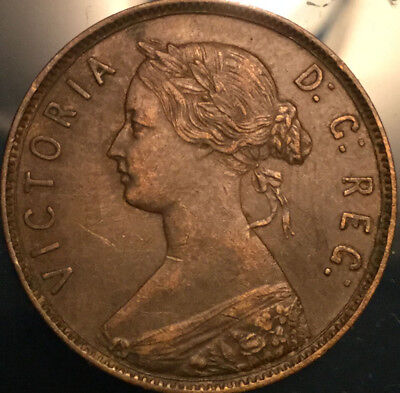 1896 NEWFOUNDLAND LARGE CENT - In stunning High grade!