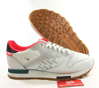 26143e587ad REEBOK CLASSIC LEATHER ALTERED - DV5239 White Red Green Black Alter the  Icon c1