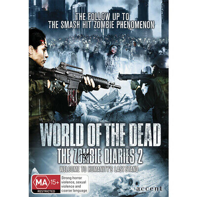 World Of The Dead Zombie Diaries 2 - Accent= DVD (Brand New - Region 4) Free Pos
