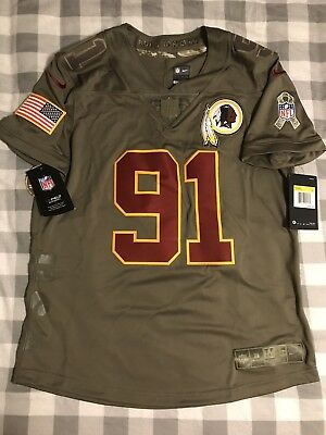 the best attitude 41b30 79a05 washington redskins salute to service jersey