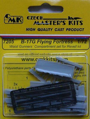 CMK 1//72 B-17G Flying Fortress Taille artilleurs Compartiment Set for Revell # 7