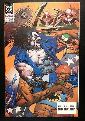 LOBO #2 Original mini-series 1990 Keith Giffen SIMON BISLEY Omega Men 3