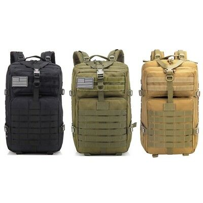 1PC Large Capacity Military Backpack Outdoor Hiking Trekking Tactical Rucksack