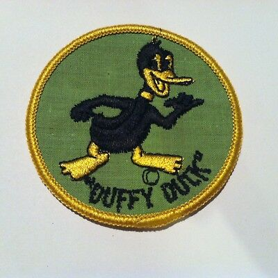 "Vintage ""Duffy Duck"" Daffy Duck 1960s Spoof Patch"
