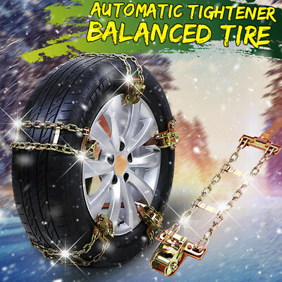 S/M/L Anti-skid Chains Car Truck Snow Mud Road Wheel Tyre Tire Thickened Tendon