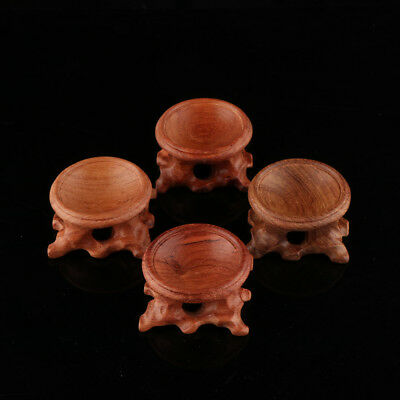 Acid Branch Wood Display Stand Base for Crystal Ball Sphere Home Decoration