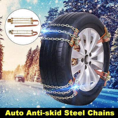 Anti-skid Steel Chains Truck Car Snow Mud Road Wheel Tyre Thickened Tire Tendon