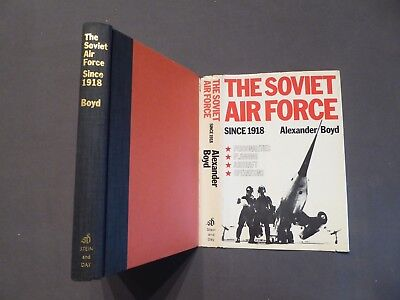 Alexander Boyd, The Soviet Air Force since 1918, First Edition USA 1977 english
