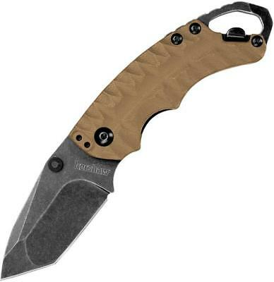 Kershaw 8750Ttanbw Shuffle Ii Tan 8Cr13Mov Steel Plain Edge Folding Knife.