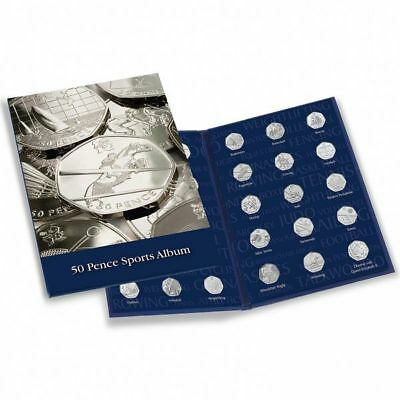 Coin Album PRESSO, 50 Pence Sports Collection - Version WITHOUT Completer Medall