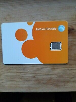 AT&T UNLIMIED DATA 4g LTE no throttling SIM CARD  FOR Hotspot 60.00 MONTHLY