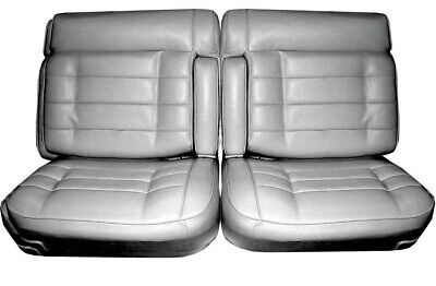 Fantastic 1975 1976 Cadillac Eldorado Front Split Bench Seat Cover Machost Co Dining Chair Design Ideas Machostcouk