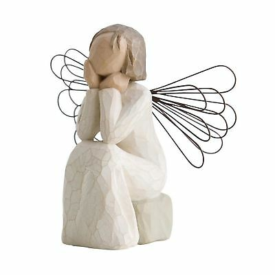 Willow Tree Angel Of Caring Figurine Resin Christian Keepsake Ornament Gift Box