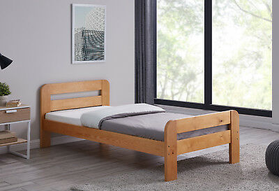 Wooden Bed Frame Cutout Single Double King Size Bedroom Mattress Brand New
