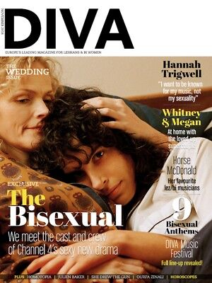Diva Magazine November 2018 - The Bisexual - Hannah Trigwell - Whitney & Megan