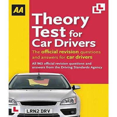 AA Publishing Theory Test for Car Drivers Aa Driving Test NEW  Paperback