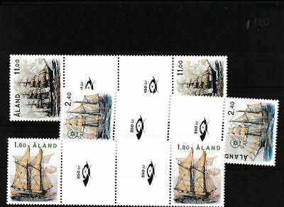 Finland - Aland 28-30 unmounted mint / never hinged catwalk pairs