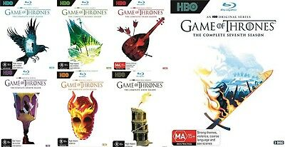 Game Of Thrones Series Complete Season 1-7 1 2 3 4 5 6 7 New Oz Blu Ray Sets